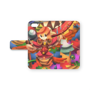 Puddle Puzzle 手帳型iPhoneケース