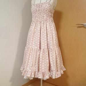 花柄ジャンパースカート