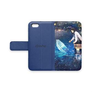 「星のすくい方」手帳型iPhoneケース