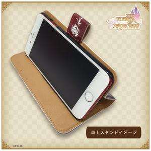 エインセールデザイン 手帳型iPhoneケース【タワー オブ プリンセス】