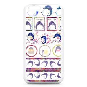 ペンギンのマスキングテープ iPhoneケース