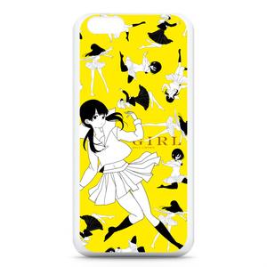 少女柄iPhoneケース(iPhone6)