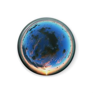 空の缶バッジ - C028C3