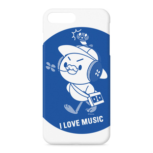 PERORINE I love music A iPhoneケース