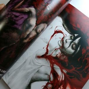 画集  BLOODBLISTER II -THE BOOK OF SWEETRUBBERBERRY- 二版