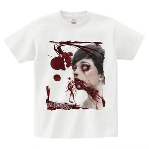 """T-Shirts """"吐血メディウム"""""""