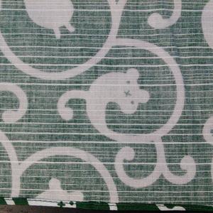 すた風呂敷 唐草 緑 綿 53cm