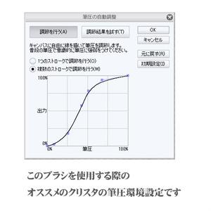 CLIPSTUDIO用 lackブラシ1(荒透明度筆圧管理2)