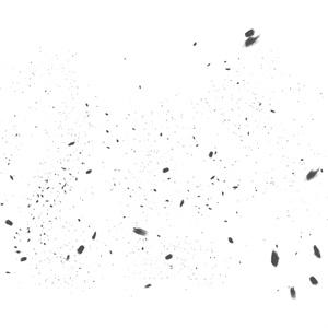 CLIPSTUDIO用 lackブラシ2(塵エフェクト)