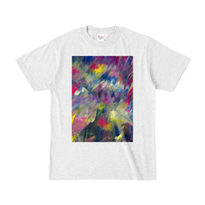 Tシャツ Colorful Wing 001 アッシュ