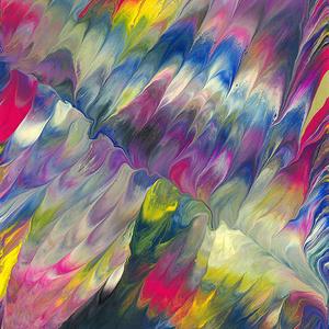 色彩の羽根 印鑑ケース 001