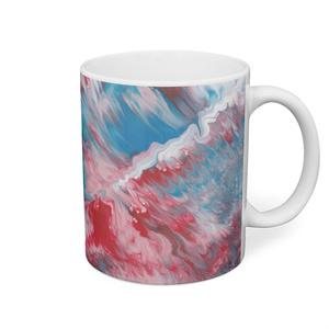 色彩の羽根 マグカップ 001