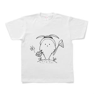 しみむしの夏休みTシャツ