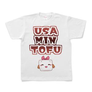 ウサミン豆腐Tシャツ