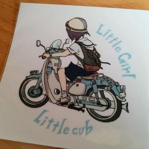 Little girl Little cub ステッカー