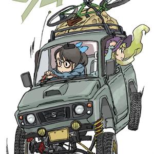ジムニーJA22Wステッカー(ver2)