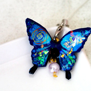 蝶のストラップ 安定 刀剣乱舞