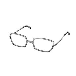 【クリップスタジオ】メガネ3D素材003