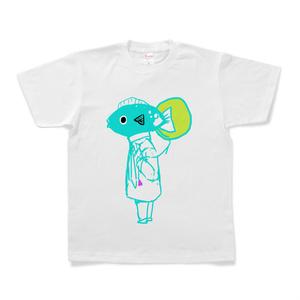 魚男Tシャツ