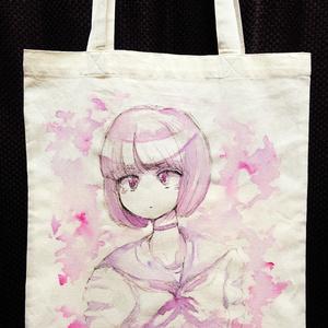 アクリルアートバッグ【少女】【送料込】
