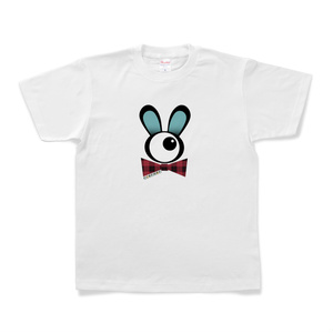 PINPONS/単眼紳士ウサギTシャツ