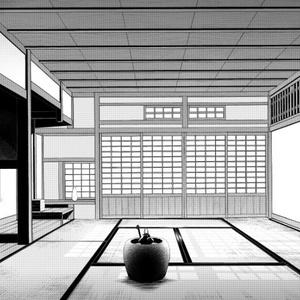 コミスタ・クリスタ用_背景素材・和室05