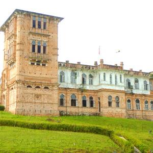 写真素材_英国風古城と遺跡