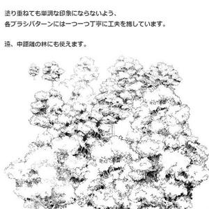 白樹木_ベタ影ブラシ・コミスタ・クリスタ兼用素材