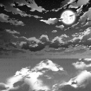 夜空トーン02・コミスタクリスタ兼用素材