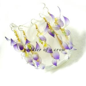 藤の花・ピアス/イヤリング