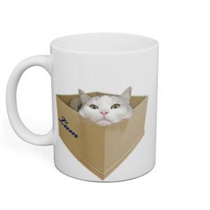 銀ラムマグカップ(白)
