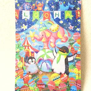 【ポストカード】ハウオリぺんぎん家族のポストカードセット その2
