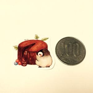 【シール】甘党ペンギンさんのシールフレーク