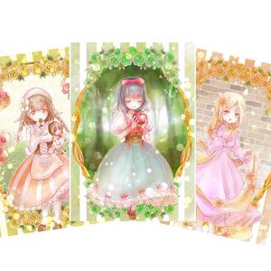【ポストカードセット】虹色童話