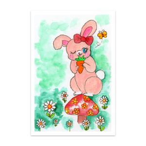 森の中のウサギさん
