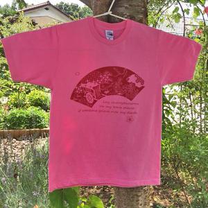 幽々さまTシャツ(桜)