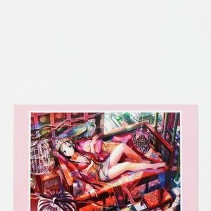 ポストカード◆L「鳳凰の娘」