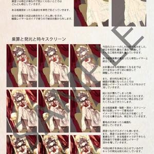 【2017年秋例大祭・紅楼夢】Scarlet Mode レミフラ絵柄別メイキング本 Used SAI ver2