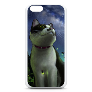 iPhoneケース「猫と天の川」(iPhone6用)