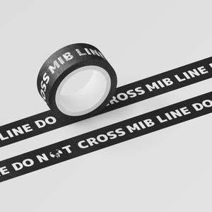 メンインブラック専用立ち入り禁止(マスキング)テープ『MIB LINE DO NOT CROSS』:B