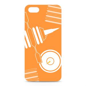 シャープマーカーデザインケース オレンジ