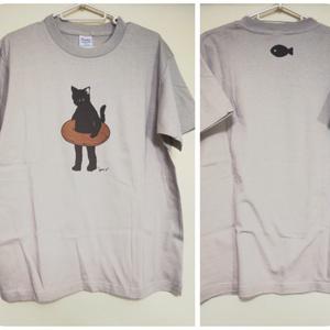 大人Tシャツ Ssize オリジナル猫キャラクター