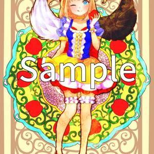 マール×白雪姫 ポストカード