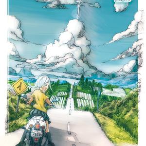 B5カード『夏の入り口』