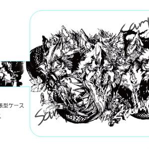 iPhone手帳型ケース・ケルベロス