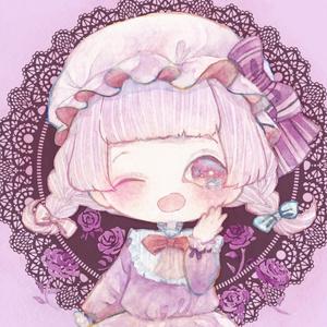 創作ロリィタ 正方形缶バッチ(40mm)