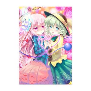東方Projectポストカード(こいここ)2014秋季例大祭