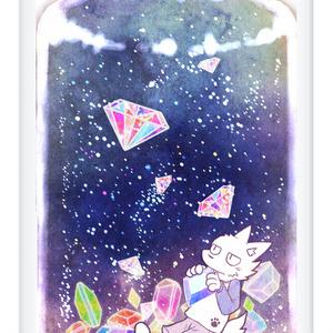 星空の瓶詰め iPhoneケース5,6,6+