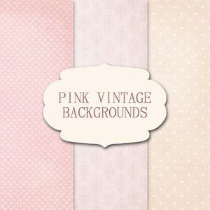 PINK VINTAGE LABERS