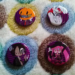 缶バッジセット「Halloween」